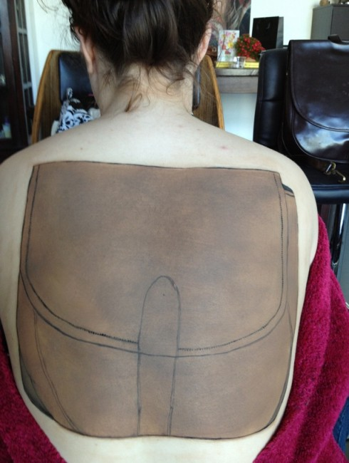 Body Painting Step 2