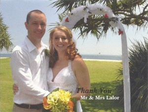 Tracey Lalor Wedding – Octorber 2012