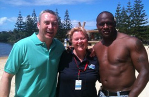 Rexona Australia's Greatest Athlete 2011: Mark Beretta, Me, Wendell Sailor