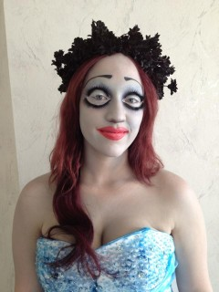 Corpse Bride from Tim Burton Animation
