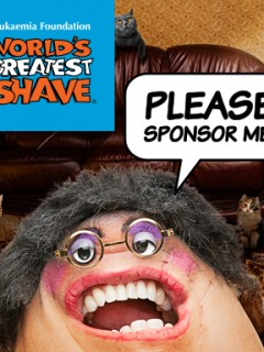 World's Greatest Shave 2014 Campaign - Cat Lady