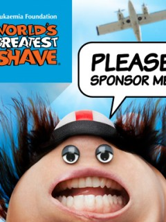 World's Greatest Shave 2014 Campaign - Sky Diver
