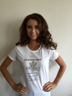Olivia Patmore - Miss Teen Galaxy Australia 2015 - Hair and Makeup
