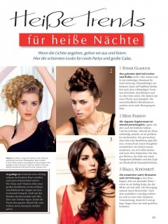 Trend Frisuren 2013 GERMANY Magazine - Hair and Makeup 2013