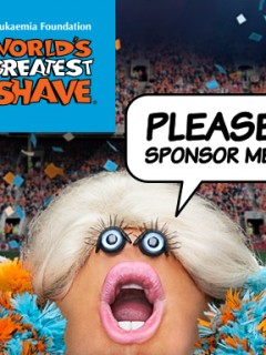 World's Greatest Shave 2014 Campaign - Cheerleader