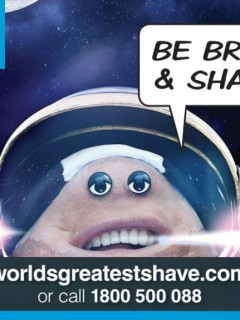 World's Greatest Shave 2014 - Astronaut