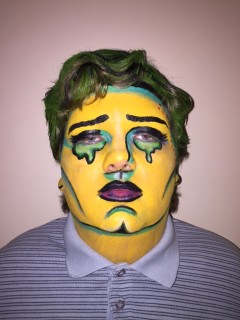 Pop Art Face Man
